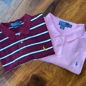 Bundle 2 *Polo by Ralph Lauren* golf polo shirts